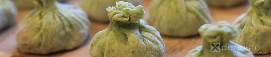 Zielone dim sum - czyli pierożki z Chin zielone dim sum pierozki z chin degusto - przepisy smaczne i proste