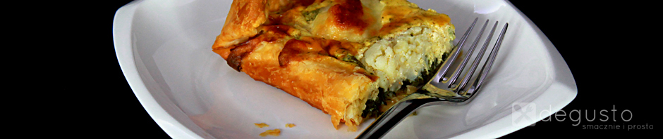 Tarta ze szpinakiem i kalafiorem tarta ze szpinakiem znak degusto - przepisy smaczne i proste