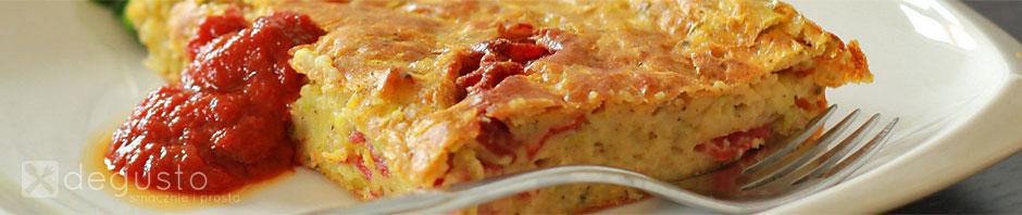 Cukiniowa babka - czyli pastyga babka cukiniowa1 degusto - przepisy smaczne i proste