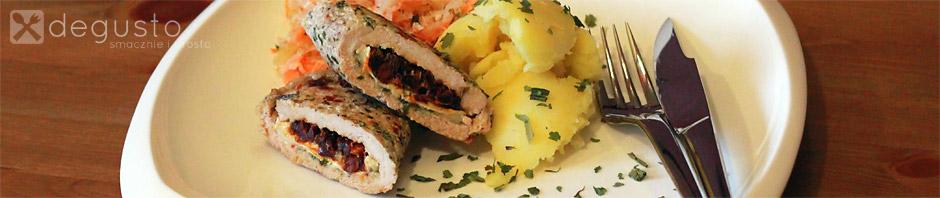 Rolady schabowe w papierze roladki degusto - przepisy smaczne i proste