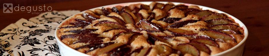 Cynamonowe ciasto ze śliwkami 13 degusto - przepisy smaczne i proste