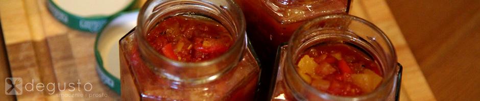 Chutney pomidorowy z imbirem i dynią 13 degusto - przepisy smaczne i proste
