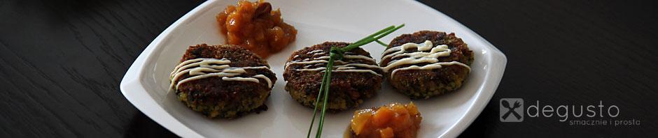 Kotleciki z kaszy jaglanej 2 degusto - przepisy smaczne i proste