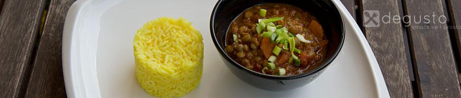 Curry z soczewicą curry z soczewicy 3 degusto - przepisy smaczne i proste
