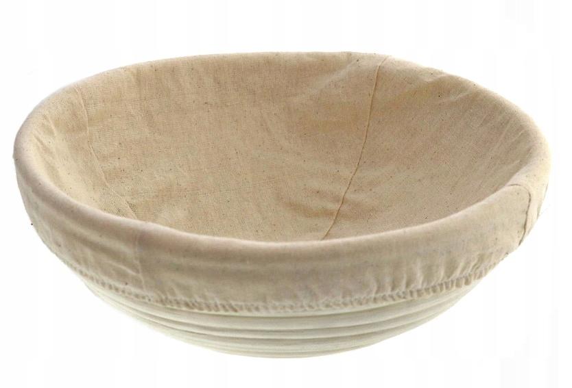Prosty chleb na zakwasie koszyk ratanowy do wyrastania chleba degusto degusto - przepisy smaczne i proste