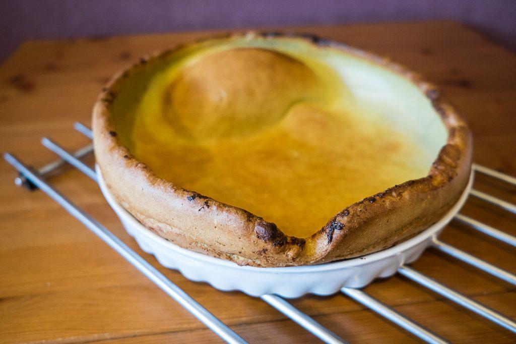 Omlet z pieca czyli omlet duński albo Dutch Baby DSCF3211 degusto - przepisy smaczne i proste